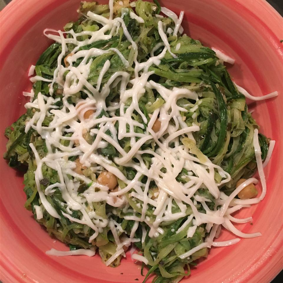 Pesto Zoodles Ms. Wo