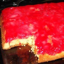 Rhubarb Upside Down Cake I Marsha Leigh Bogardus
