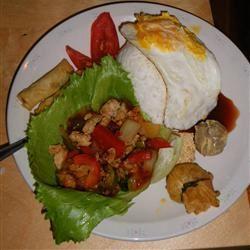 Thai Ground Chicken Basil ChrissyLynn