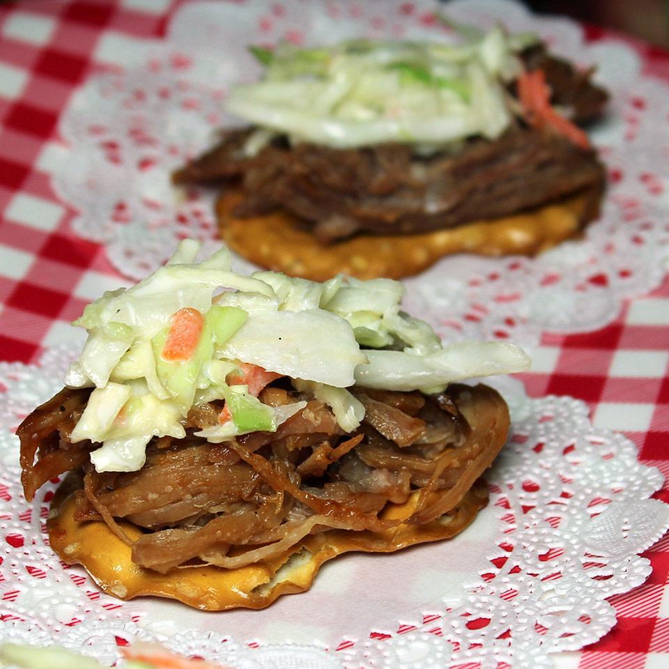 Barbecue and Coleslaw Pretzel Crisps® Bites Allrecipes Trusted Brands