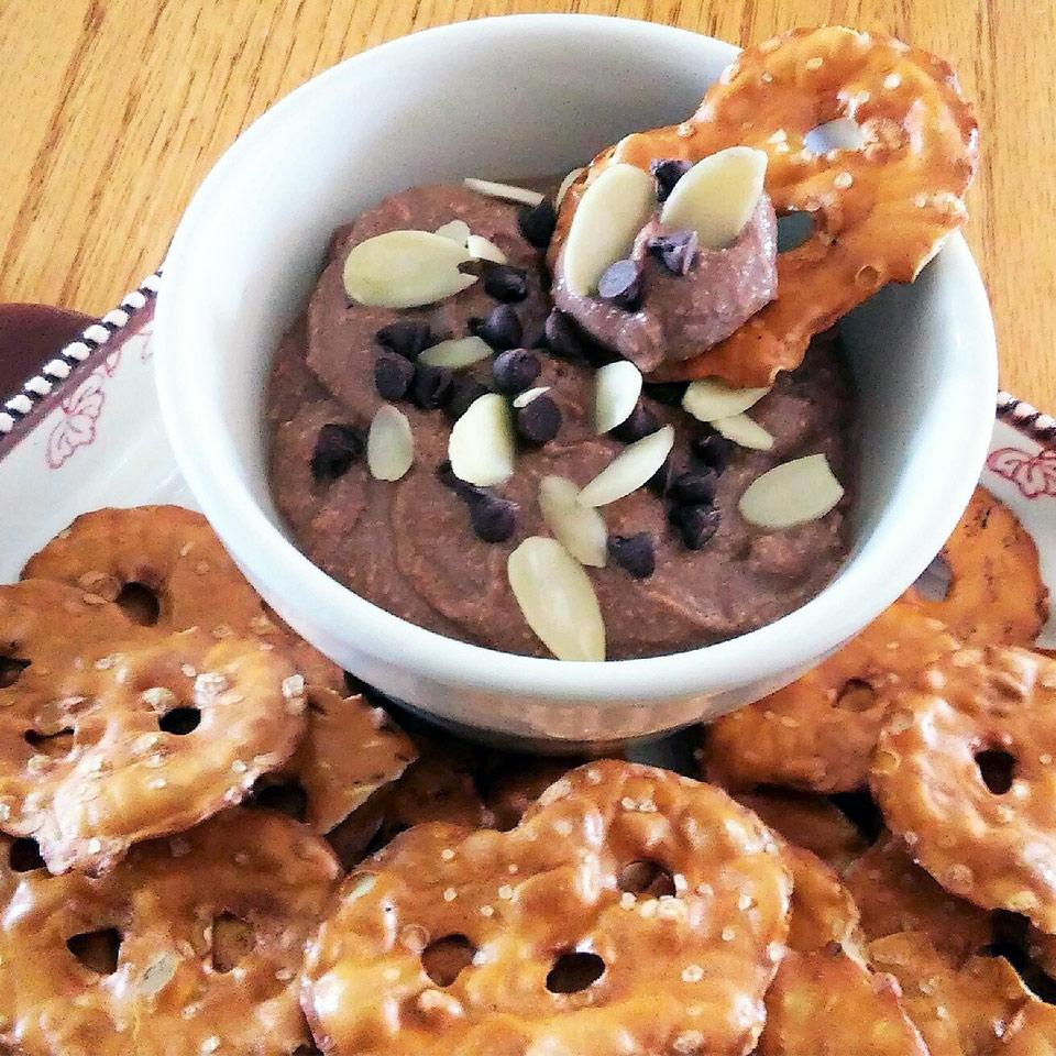 Chocolate Almond Ricotta Dip