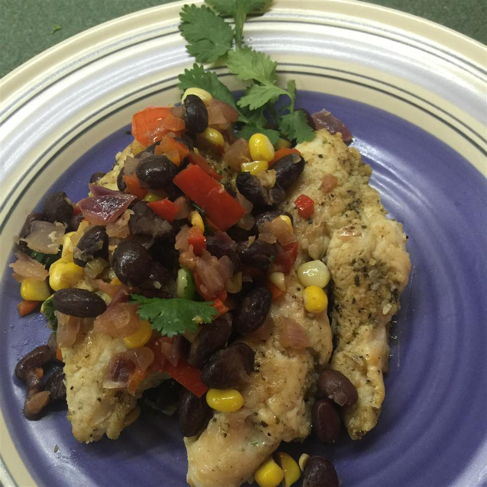 Fiesta Chicken and Black Beans Lisa24