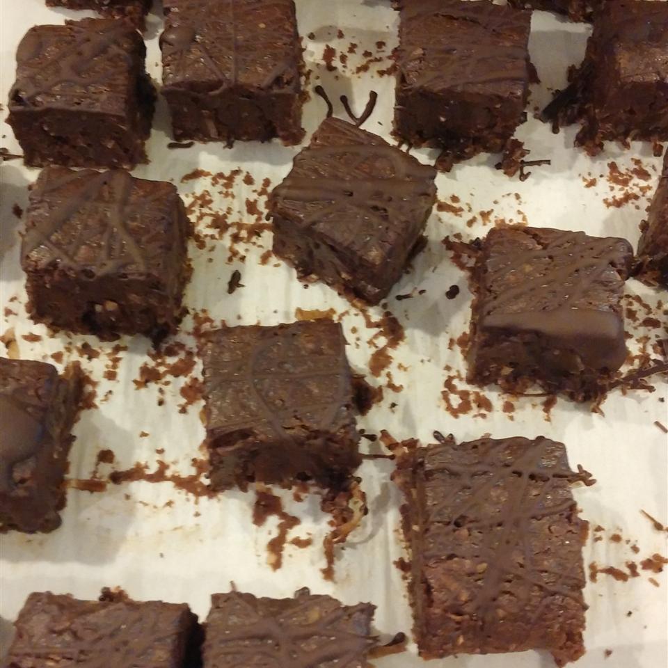 Gluten-Free, Dairy-Free Coconut Brownies gerstel