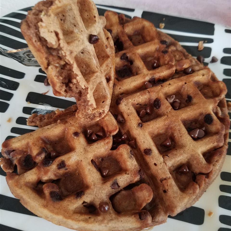 Carlie's Chocolate Oatmeal Waffles Jennifer Smith