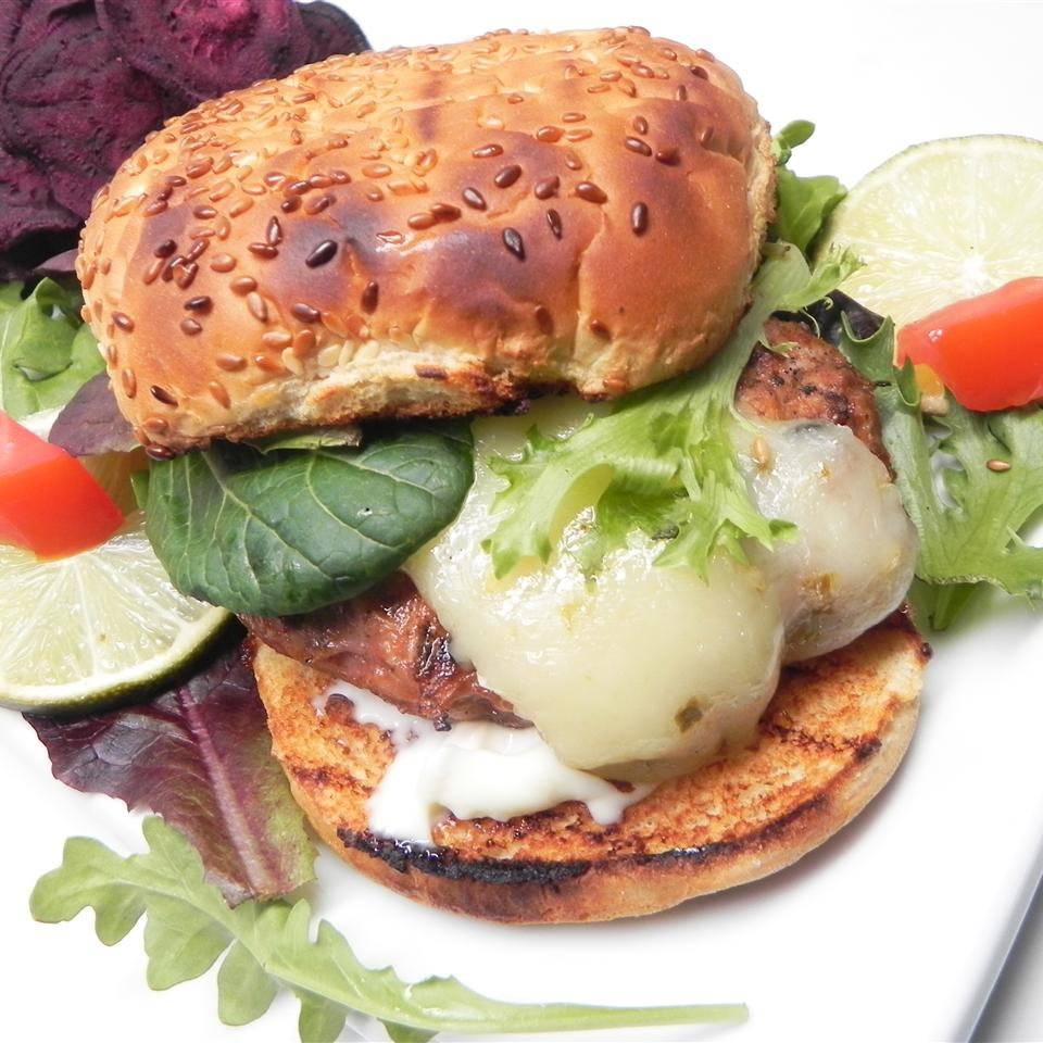 Turkey Chorizo Burger