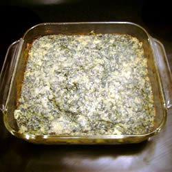 Savory Spinach Casserole floridascrubtech