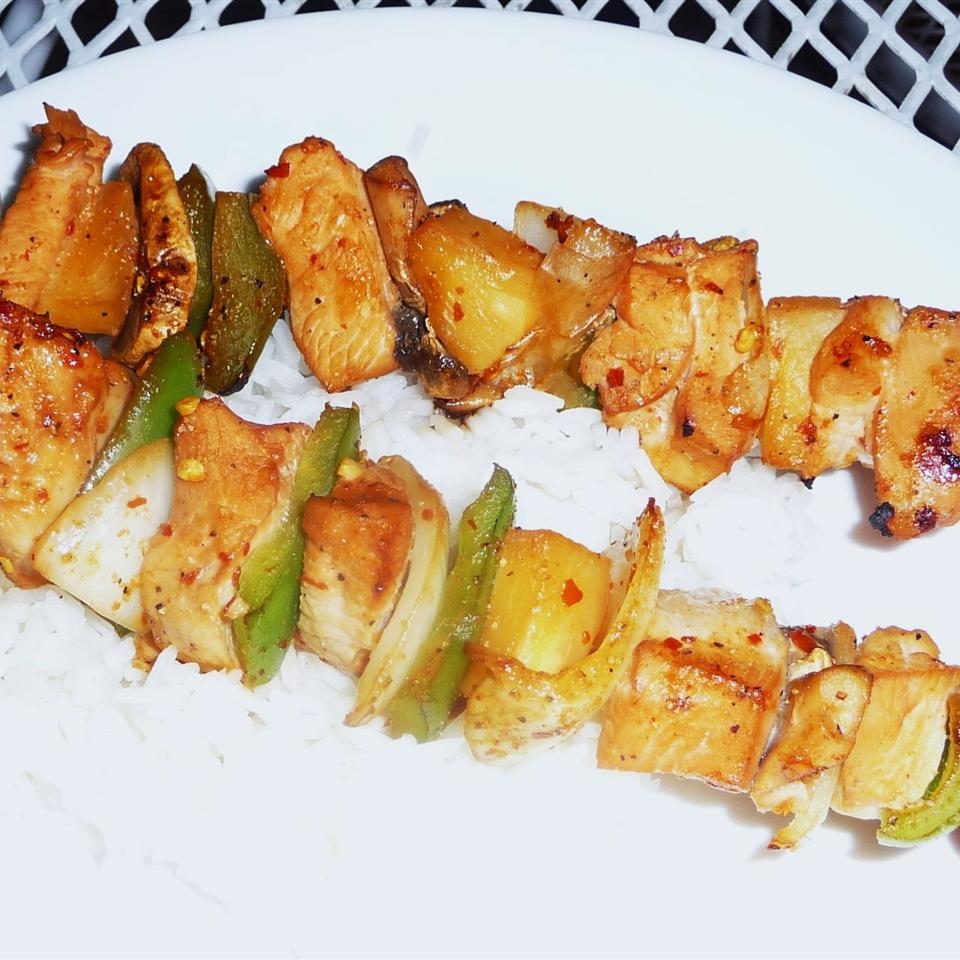 Slayer's Sweet, Tangy, and Spicy Kabobs Kraig