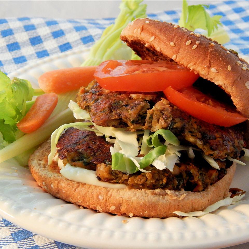 Veggie Quinoa Burgers Linda T