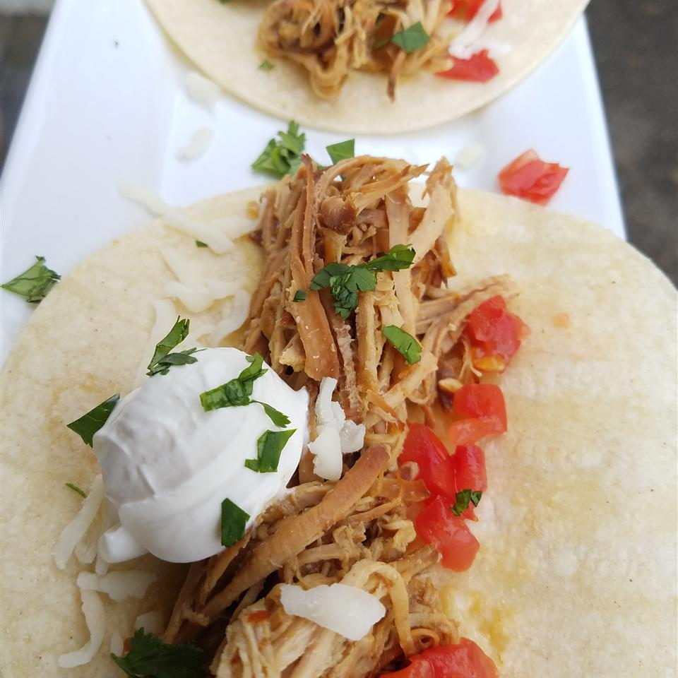 Sweet and Spicy Ginger Beer Pulled Pork Jaana Smith Bauman
