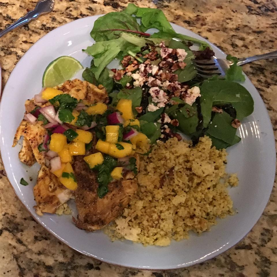 Curried Tilapia with Mango Salsa Mike Twohig