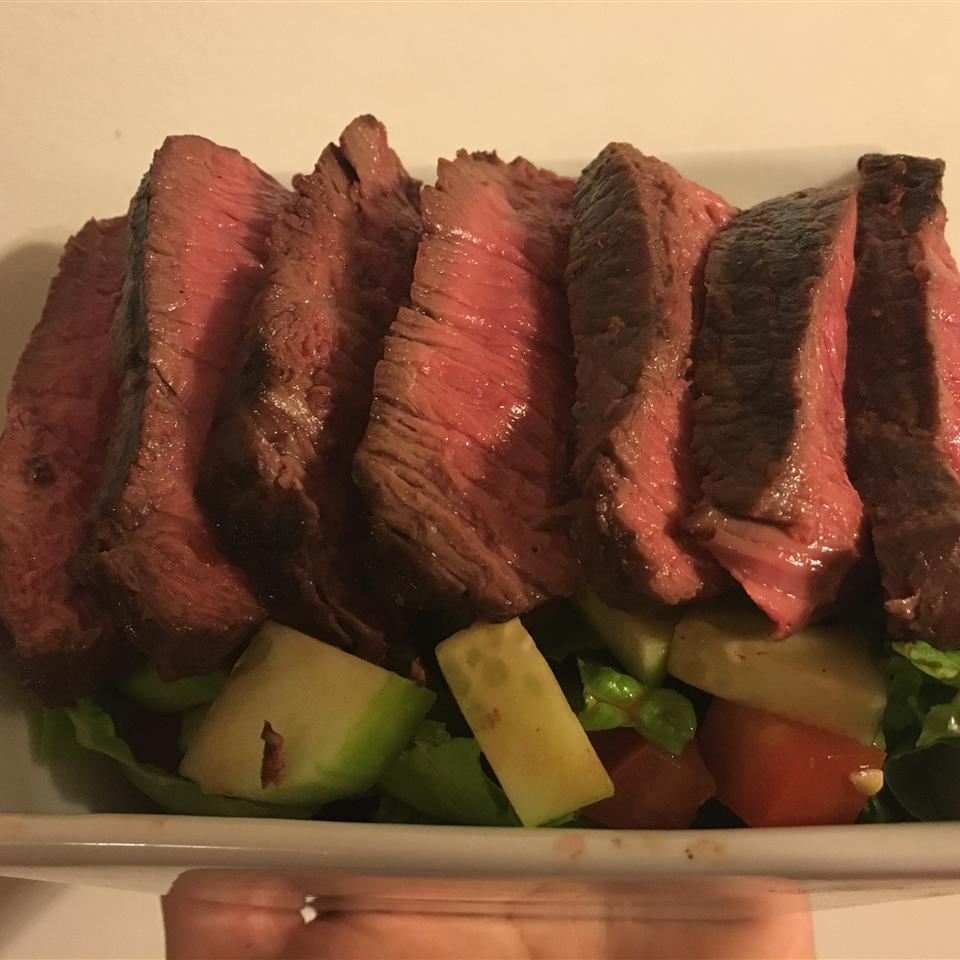 Grilled Steak Salad with Asian Dressing Kendra Bond