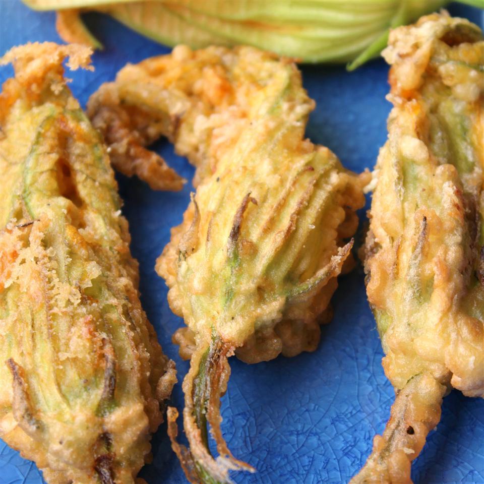 Gluten-Free Stuffed Zucchini Blossoms (Fior di Zucca Ripieni)
