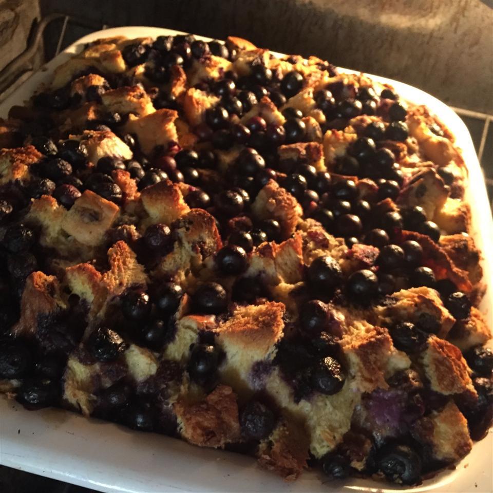 Overnight Blueberry French Toast Casserole