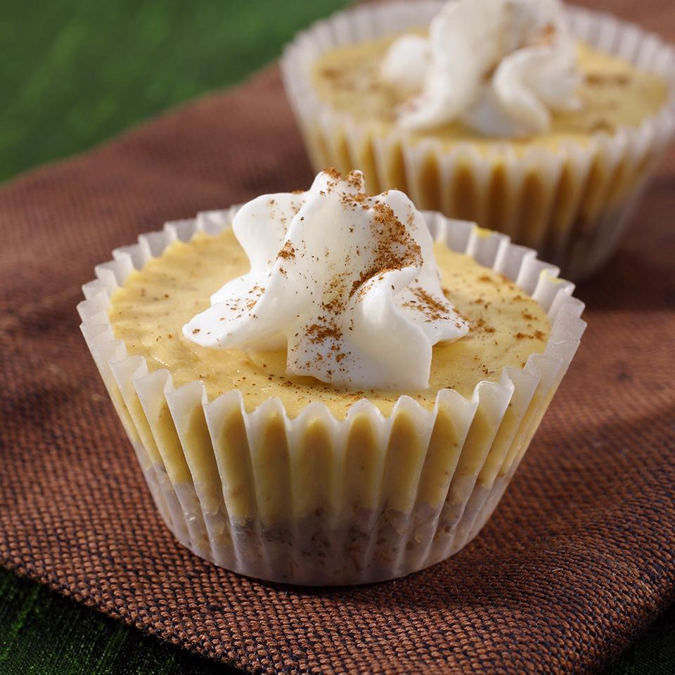 Mini Pumpkin Cheesecakes from Reddi-wip®