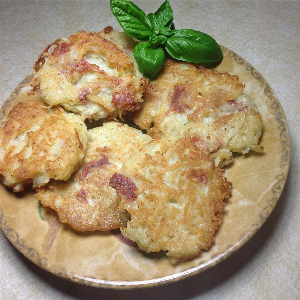 Polpette di Patate Fritte (Potato and Prosciutto Fritters) Cliff G
