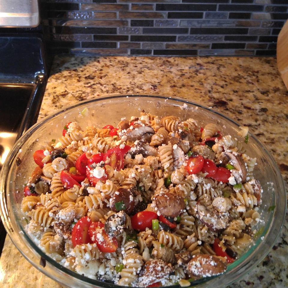 Greek Pasta Salad III Starrfairy
