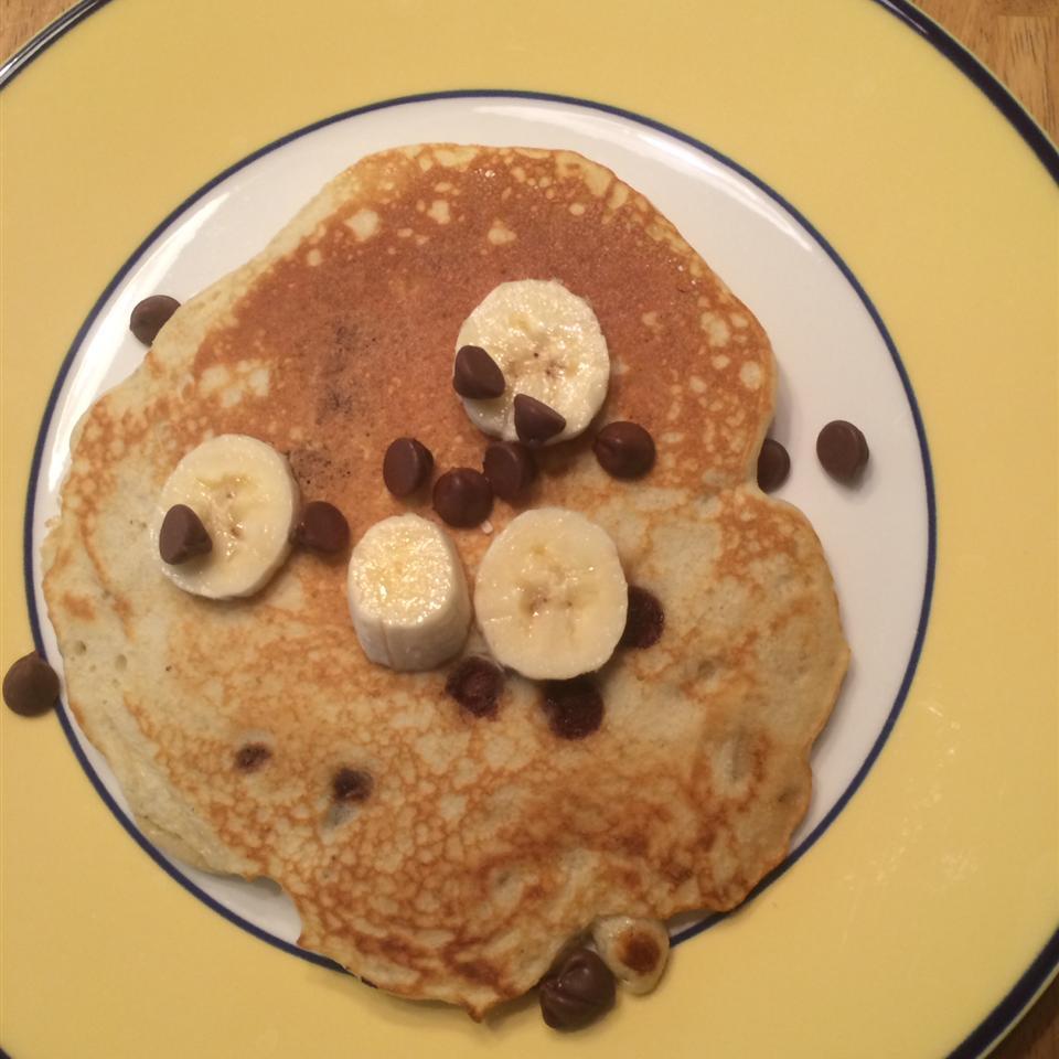 Banana Pancakes the Easy Way