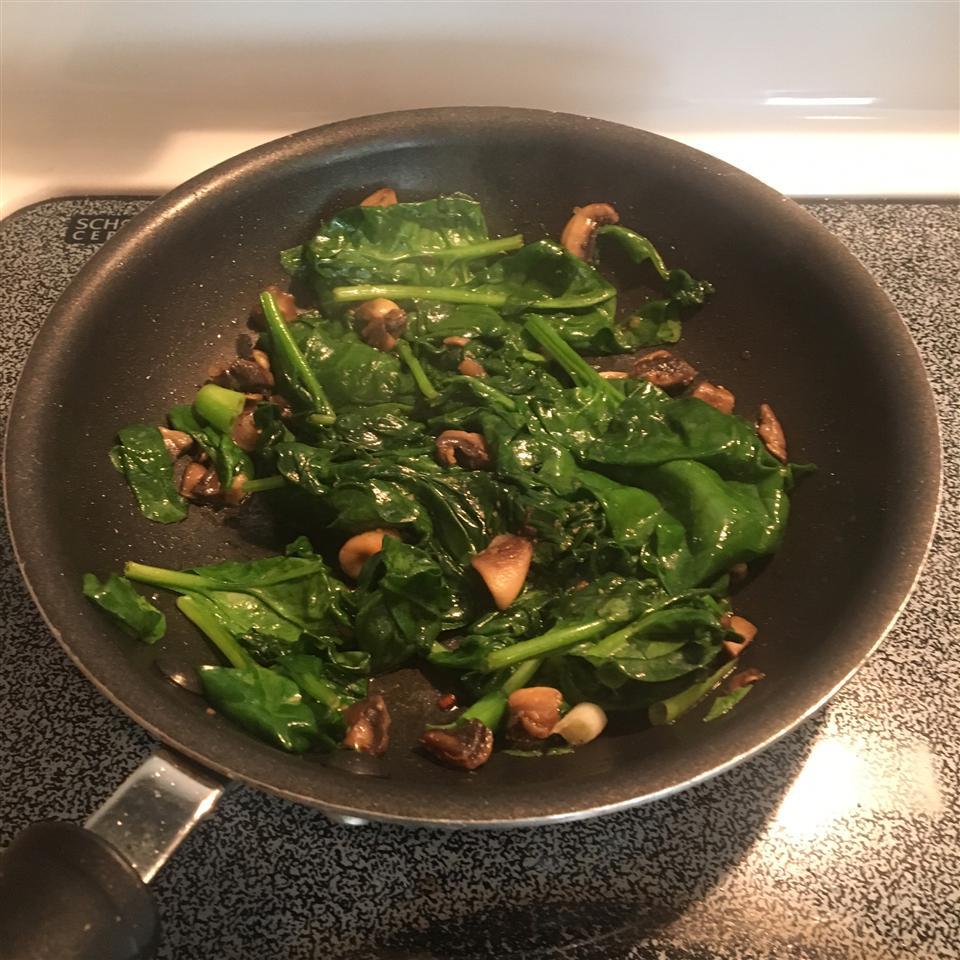 Garlic Spinach Tisch