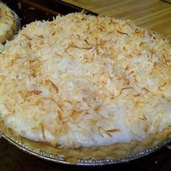 Coconut Cream Pie VIII