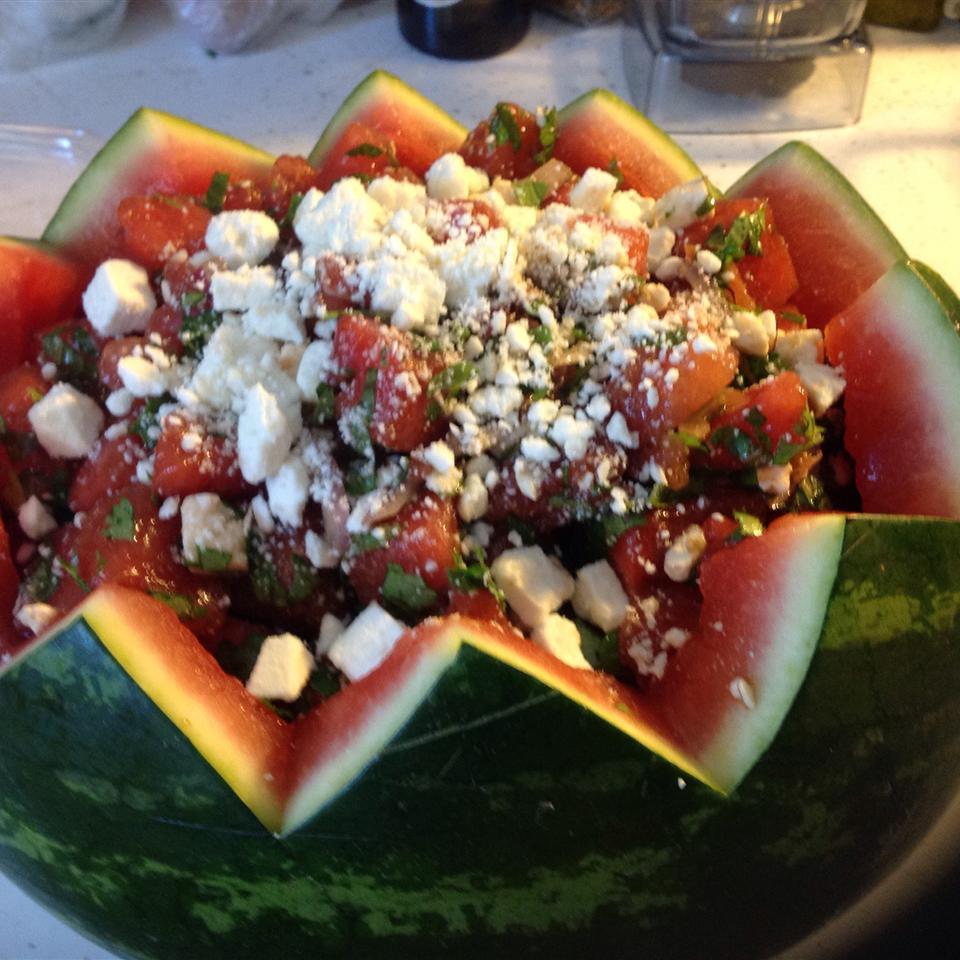 Herb Watermelon Feta Salad Katkat18
