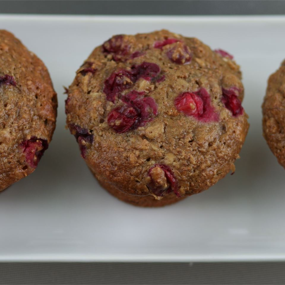 Health Nut Blueberry Muffins ketl