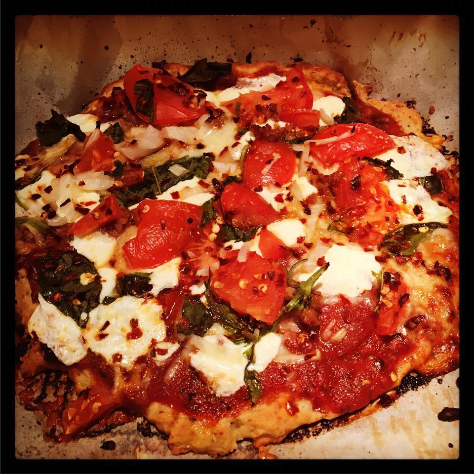 Gluten-Free Cheese and Herb Pizza Crust Coca Nicola