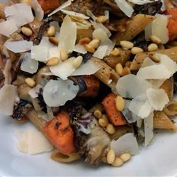 Pasta with Roasted Butternut Squash and Sage rocks