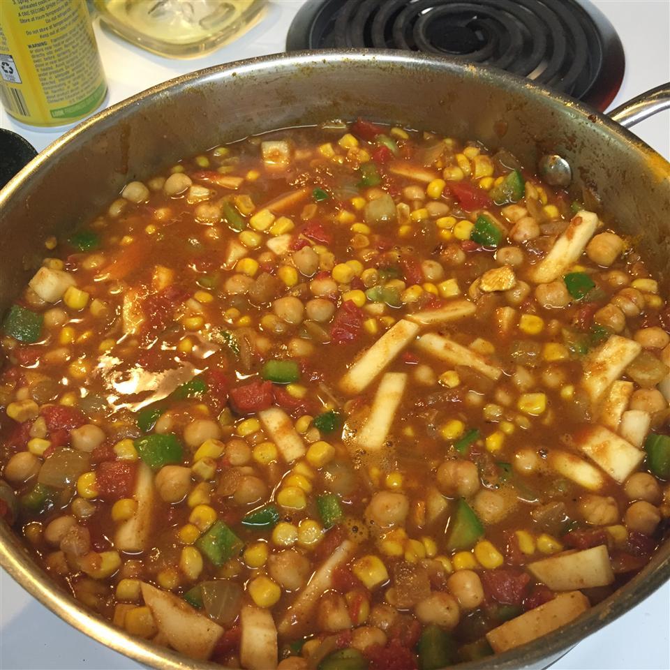 Vegetarian Chickpea Curry with Turnips iRun4Fun2008