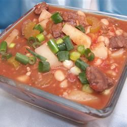 Navy Bean Soup With Sirloin Tips MARBALET