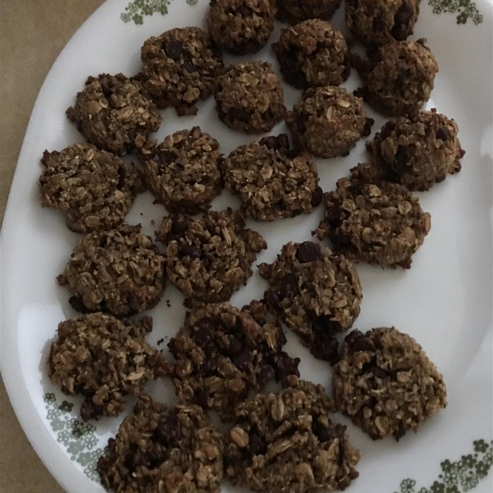Quinoa Oatmeal Cookies grampnana