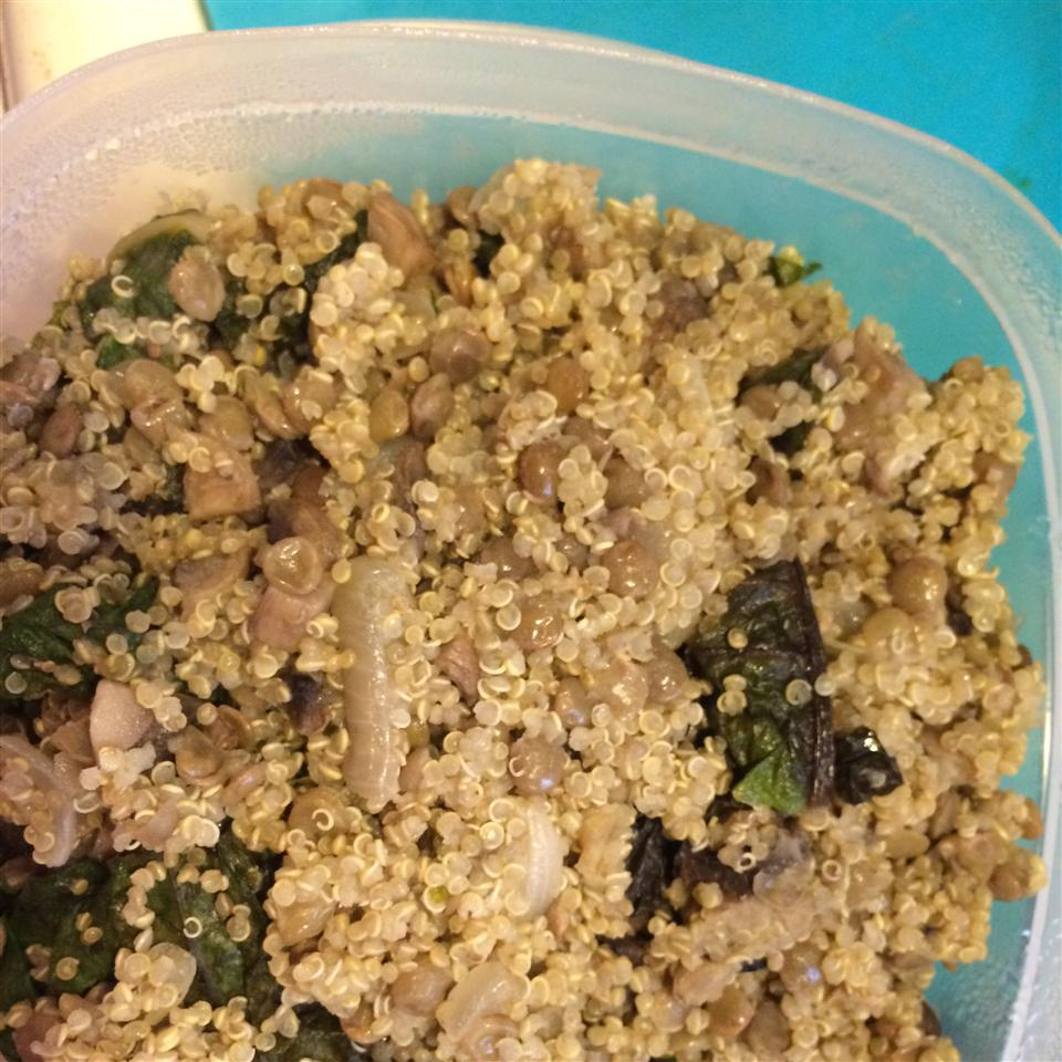 Quinoa Chard Pilaf