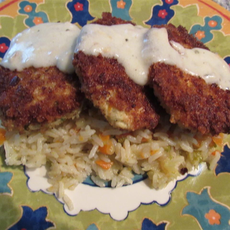 Crispy Chicken Croquettes with Garlic Butter Sauce Judy in Delaware