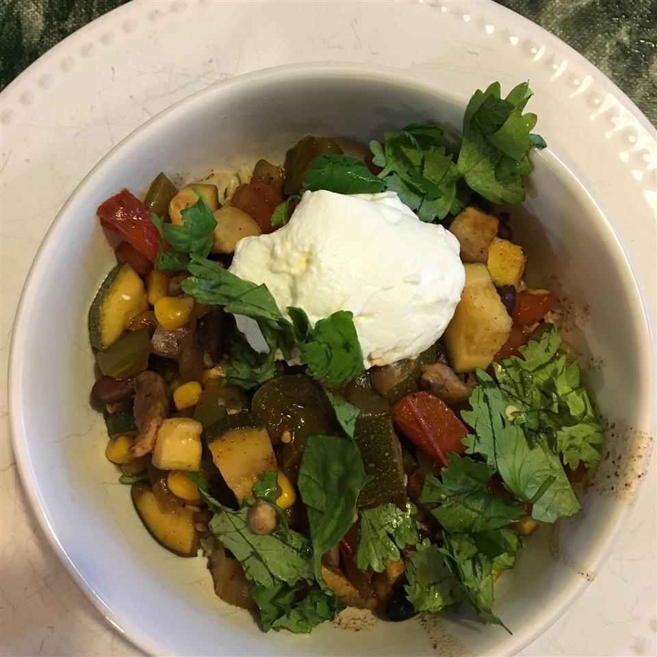 Summer Vegetarian Chili