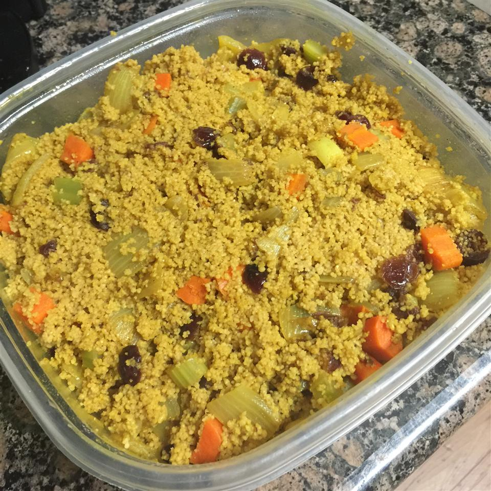 Easy Curry Couscous karamelized