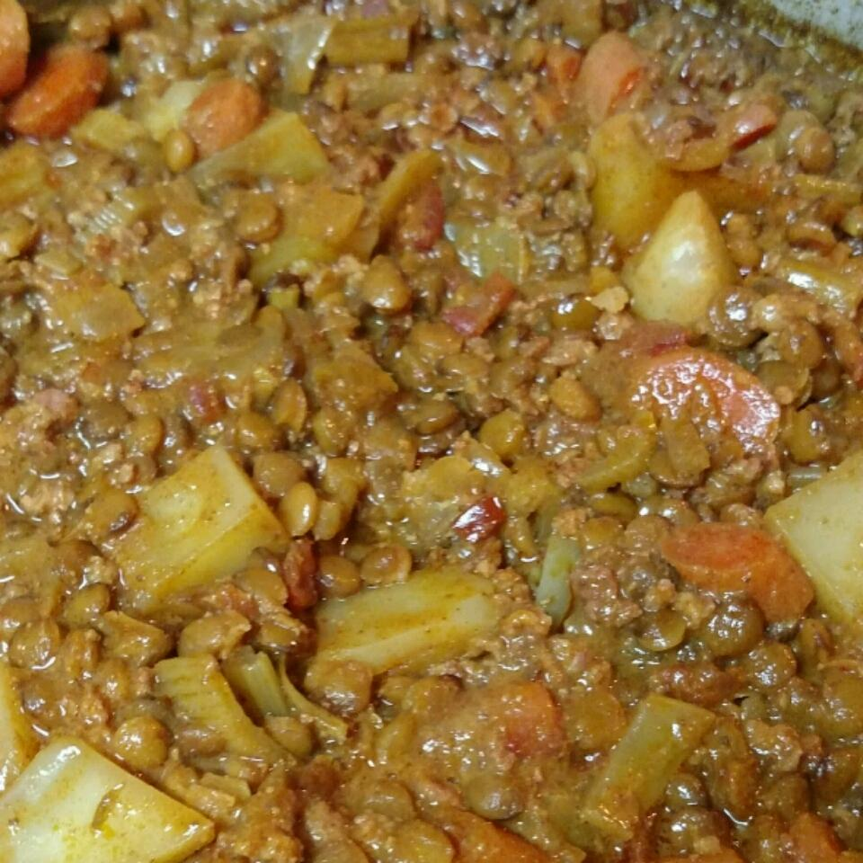 Chorizo and Lentil Stew