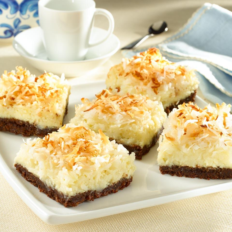 Coconut Cheesecake Bars