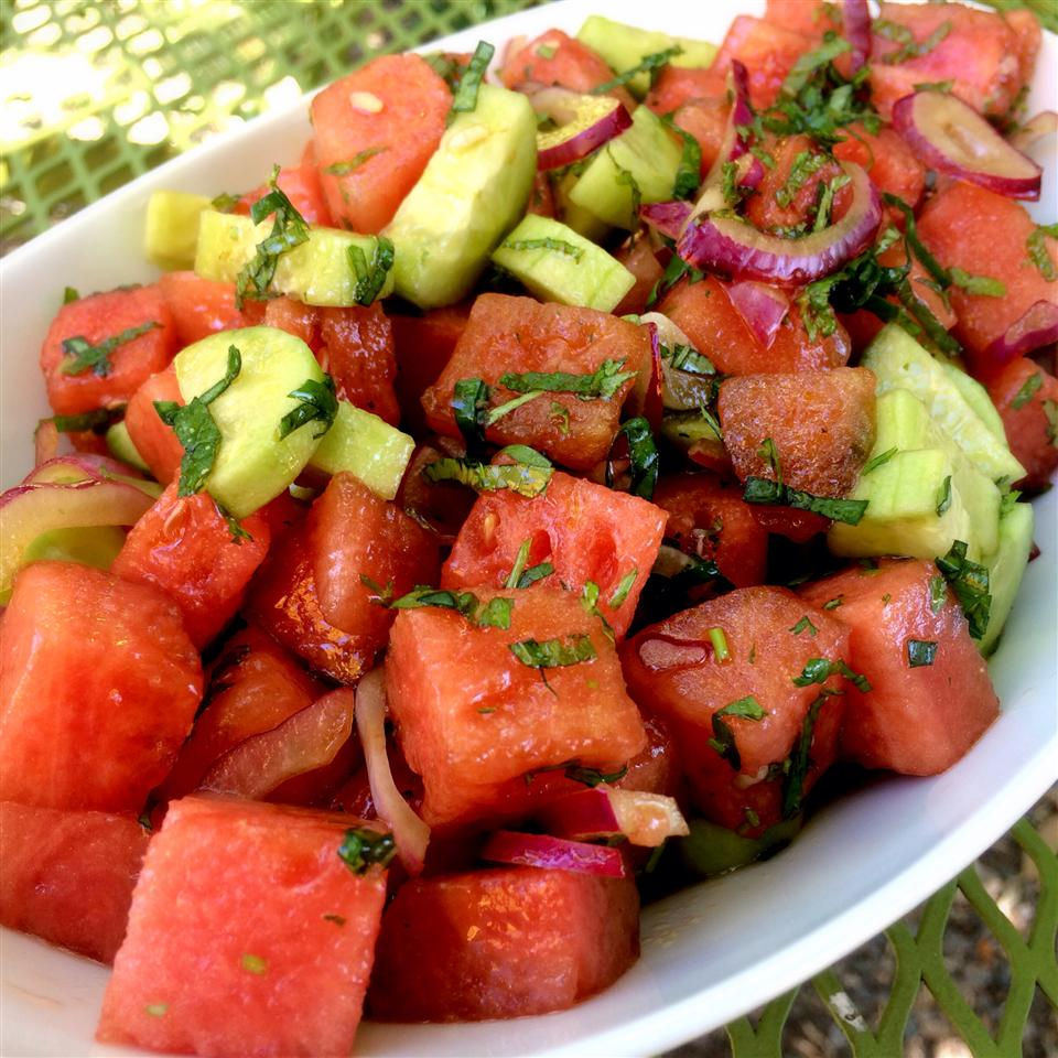 Refreshing Watermelon Salad CJ