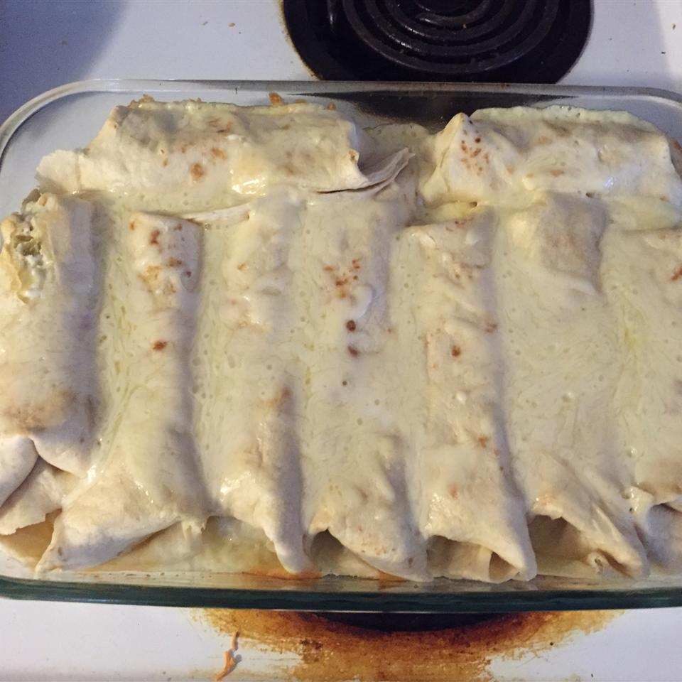 Whit's Chicken Enchiladas