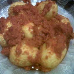 Telur Balado (Spicy Chile Sauce with Eggs) Rani Rasfiardha