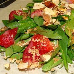 Spinach and Strawberry Daiquiri Salad ~*Morgan*~