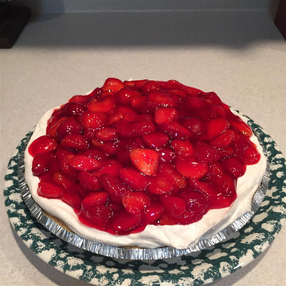 Strawberry Cream Pie To Die For Jacki
