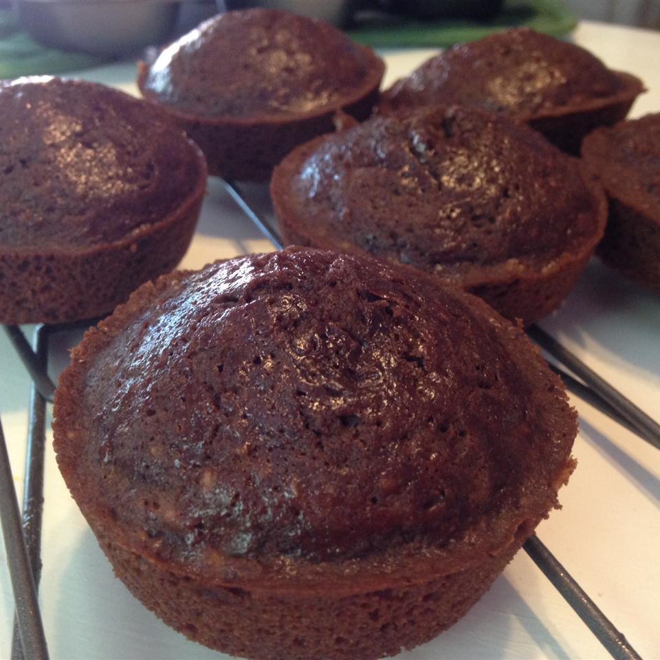 Banana Brownie Muffins