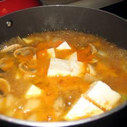 Korean Bean Curd (Miso) Soup msmo