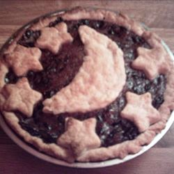 Concord Grape Pie III CHARCOALED