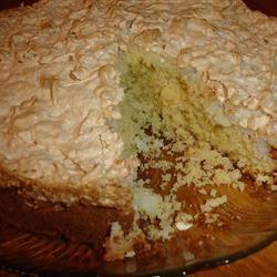 Coconut Meringue Cake Tetya