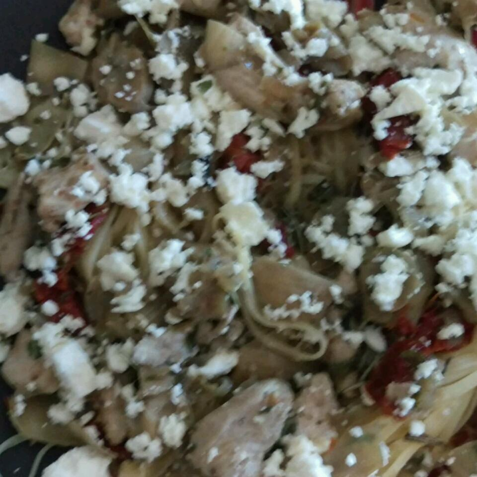 Chicken with Artichokes and Sundried Tomatoes