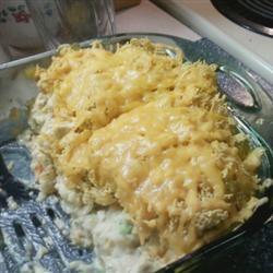 Veggie Chicken Rice Casserole