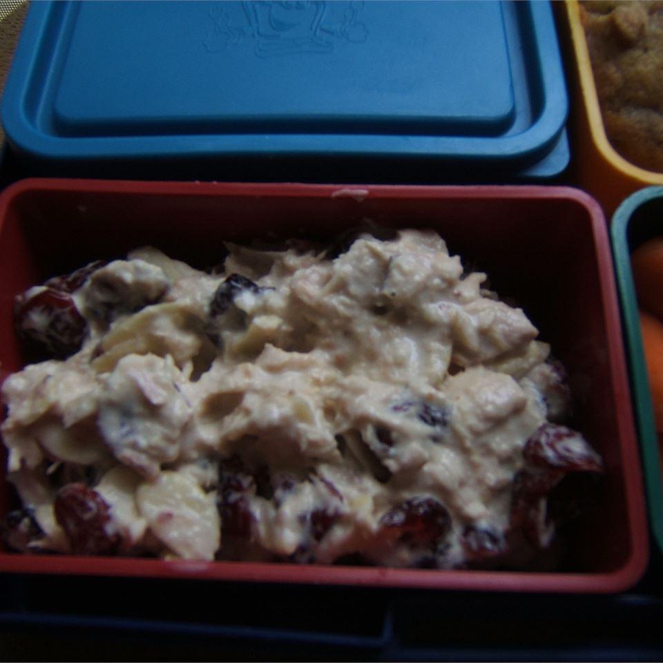 Tuna Salad with Cranberries Marian
