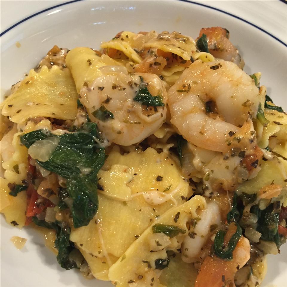 Fresh Tomato Shrimp Pasta Aaron A