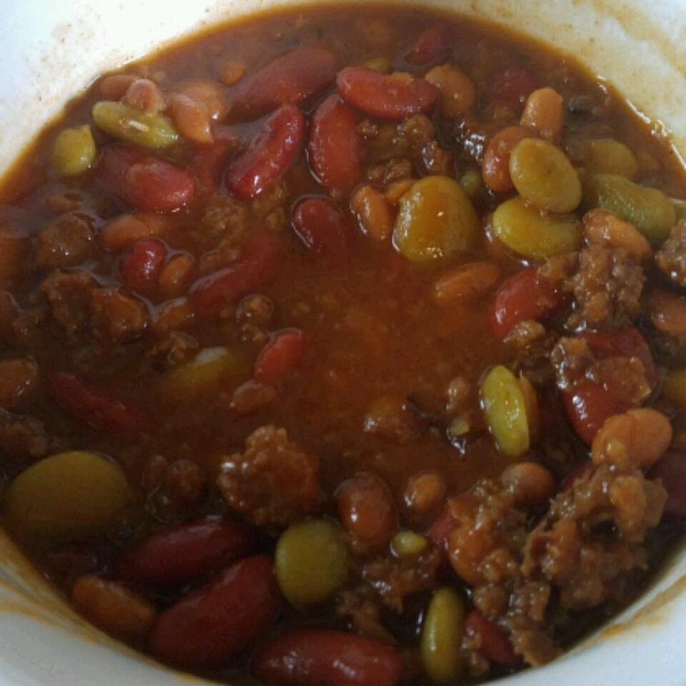 Three Bean Potluck Casserole Tristin Hammons